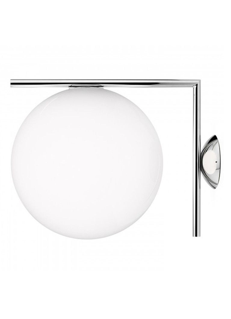 Flos - IC Lights C/W2 wandlamp - Chroom