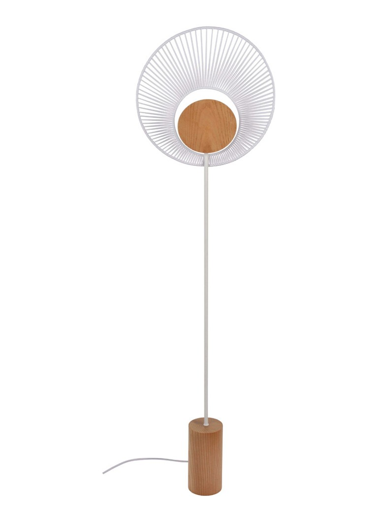 Forestier - Oyster vloerlamp - Wit