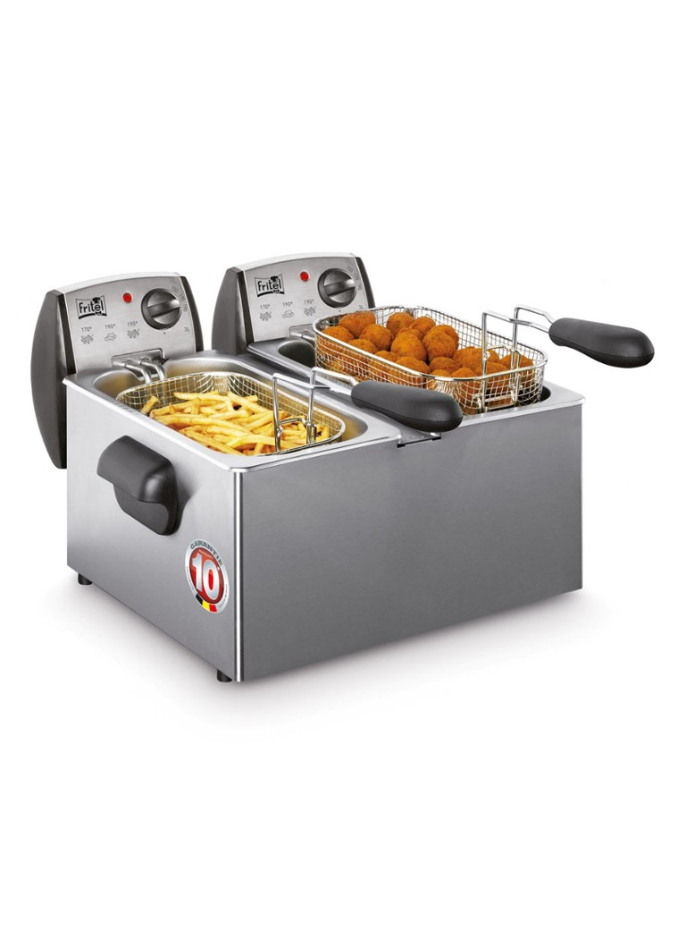 Fritel - Duo friteuse FR1850 141056 - Roestvrijstaal