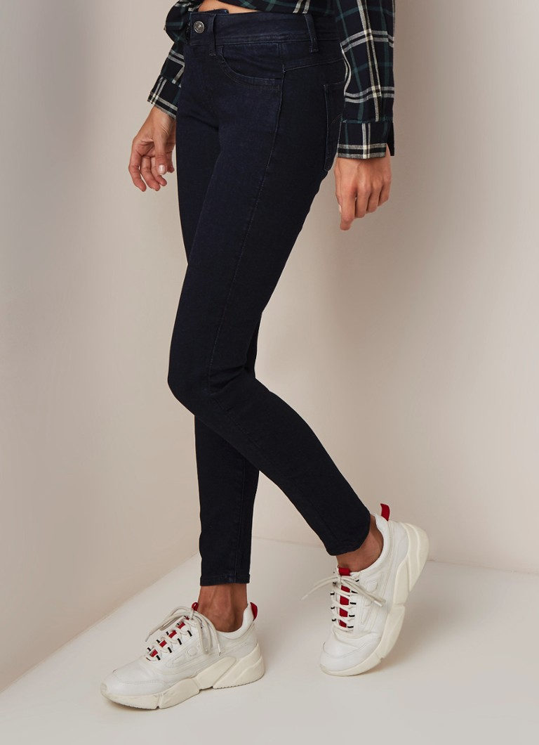 G-Star RAW - Lynn mid rise skinny fit jeans met donkere wassing - Indigo