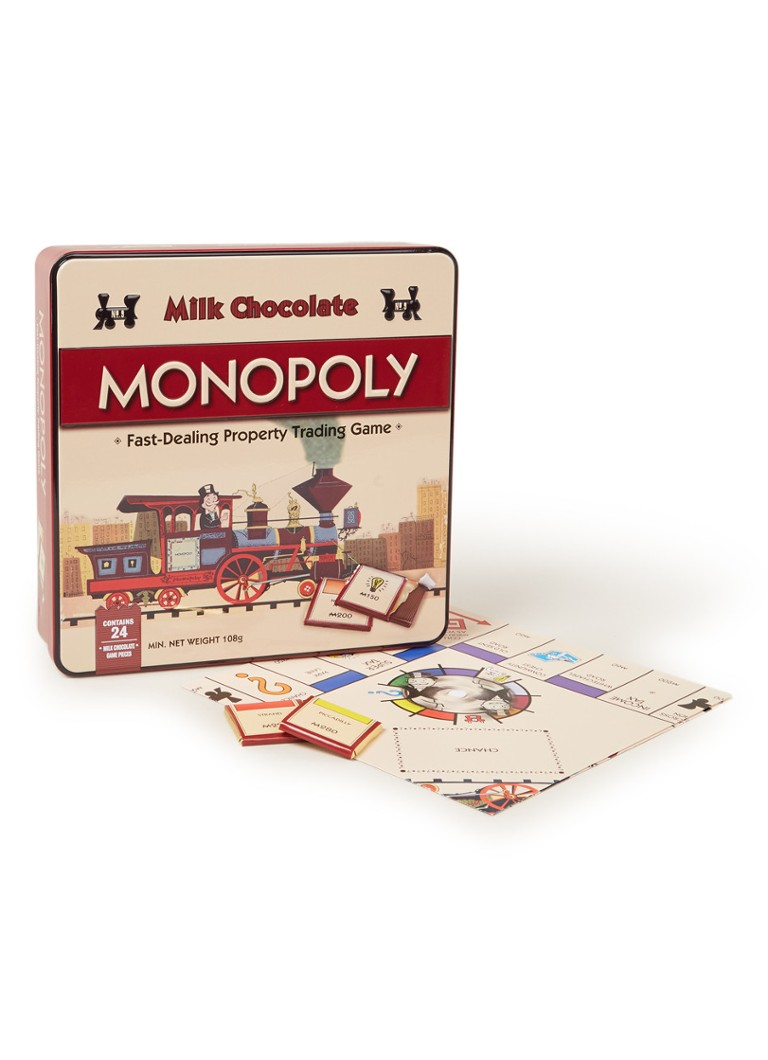 gamesformotion - Chocolade Monopoly spel in blik 108 gram -