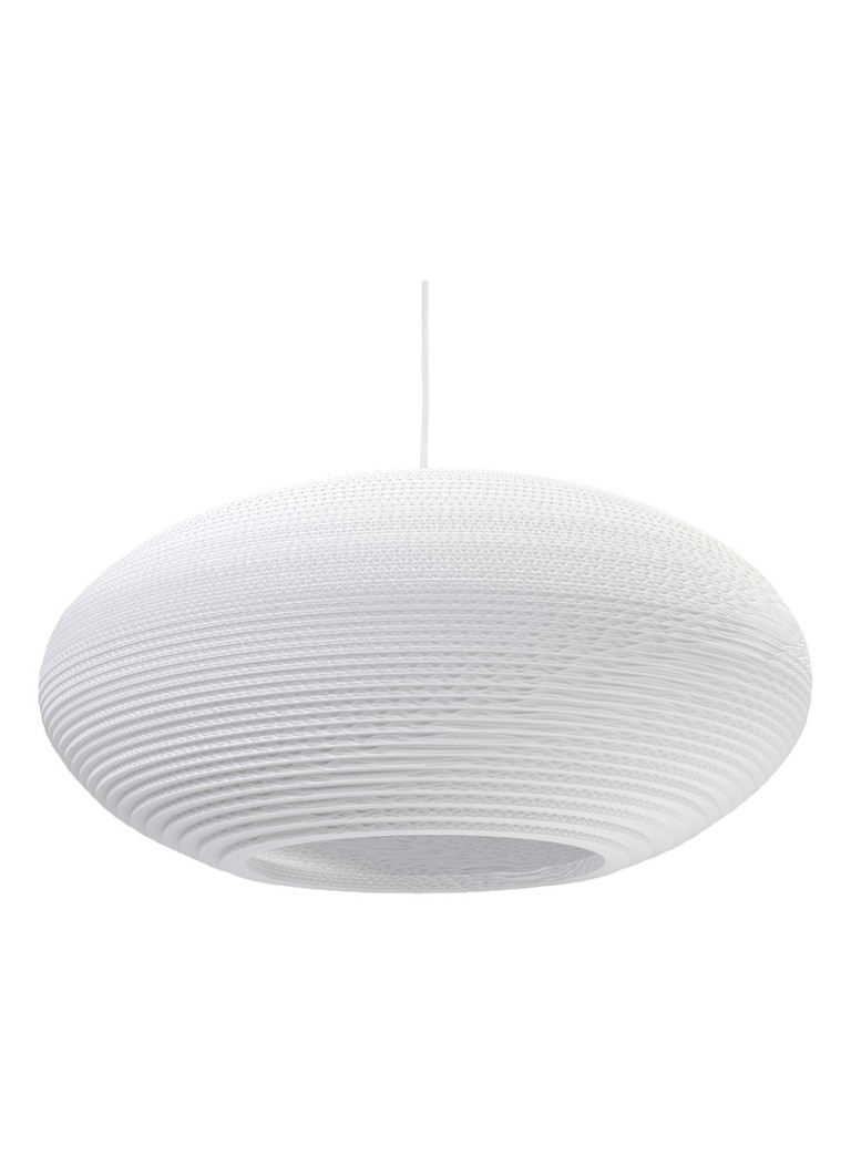 Graypants - Disc 24 White hanglamp - Wit