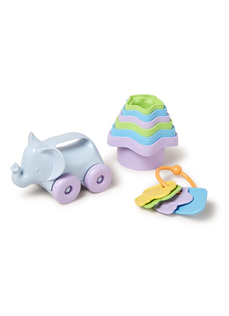 Green Toys - Baby toy starter set 3-delig - Multicolor