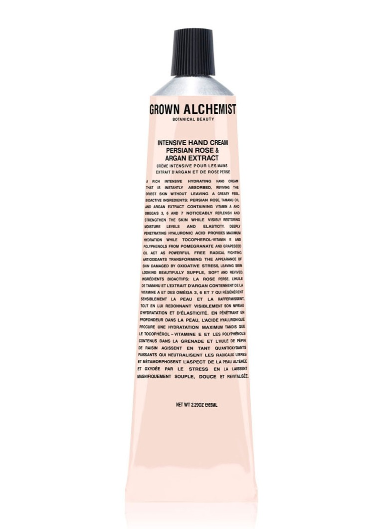 Grown Alchemist - Persian Rose & Argan Extract Intensive Hand Cream - handcrème -