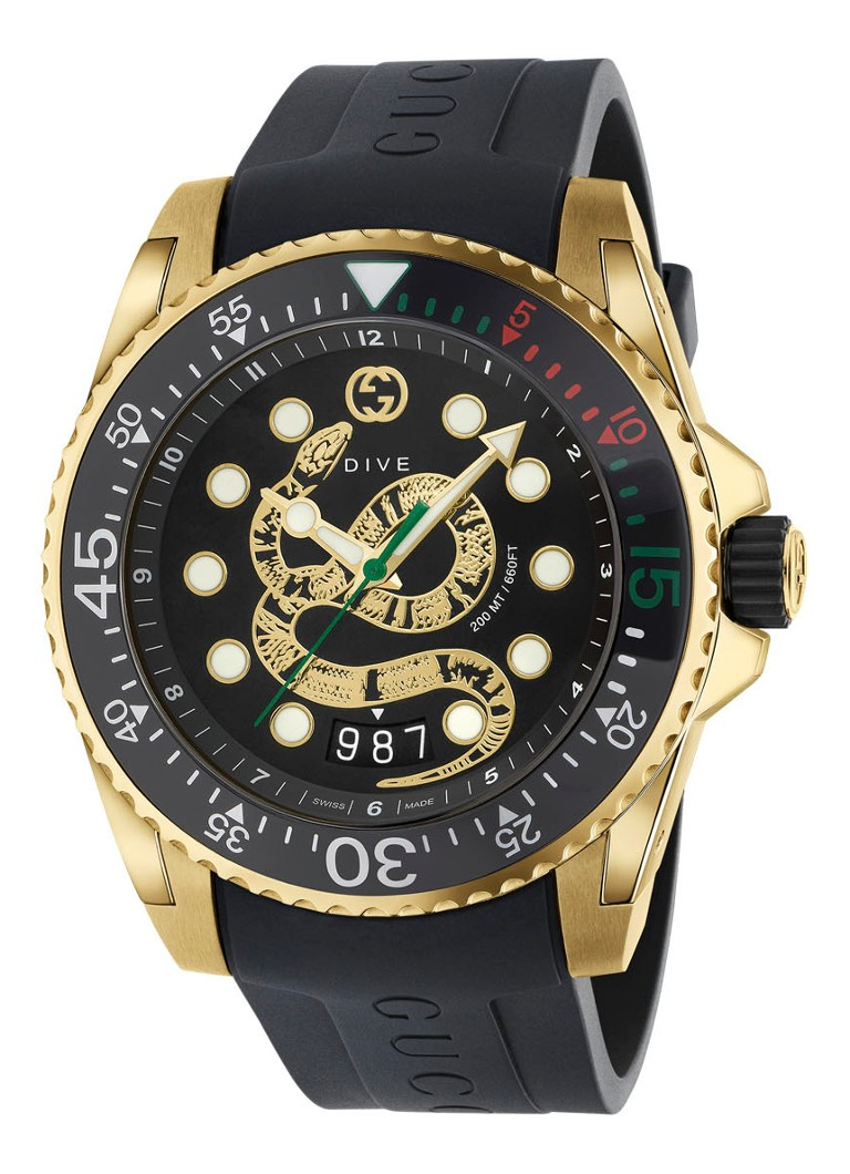 Gucci - Montre Dive YA136219 - null