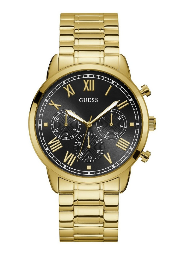 GUESS - Guess Mens Dress Steel - Goud