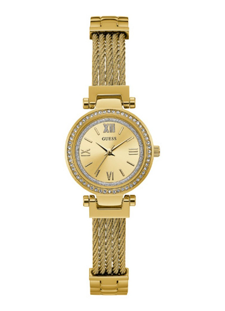 GUESS - Mini Soho horloge W1009L2 - Goud