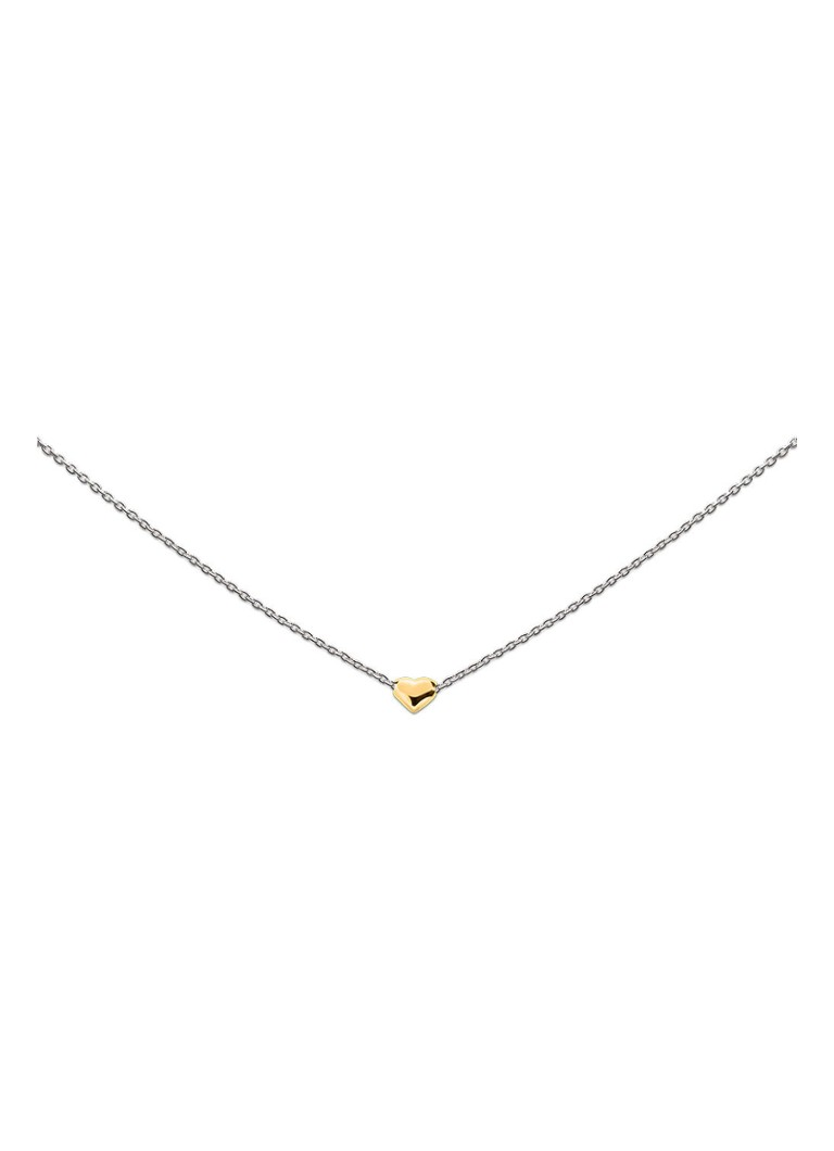 Heart to get - Ketting Heart of Gold - Zilver