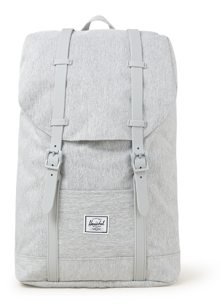 Herschel Supply - Retreat M rugzak met 13 inch laptopvak - Grijsmele