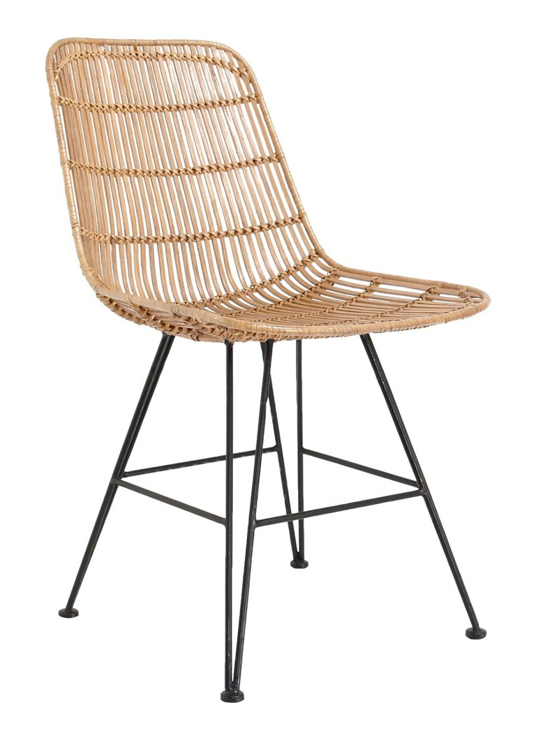 HKliving - Rattan stoel - Naturel