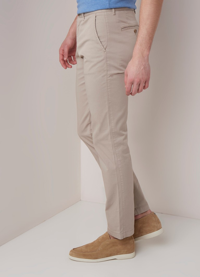 HUGO BOSS - Criganstraight fit chino met stretch - Beige