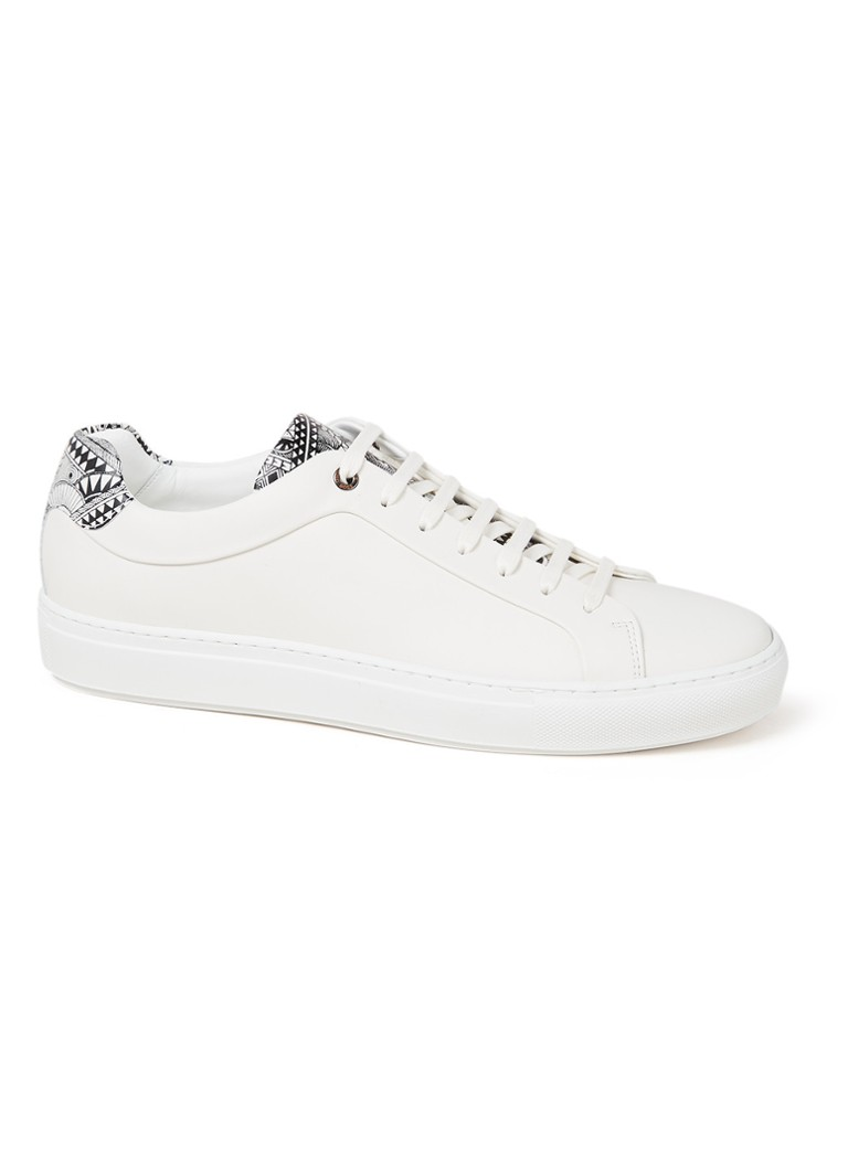 HUGO BOSS - Mirage Tenn sneaker van leer - Wit