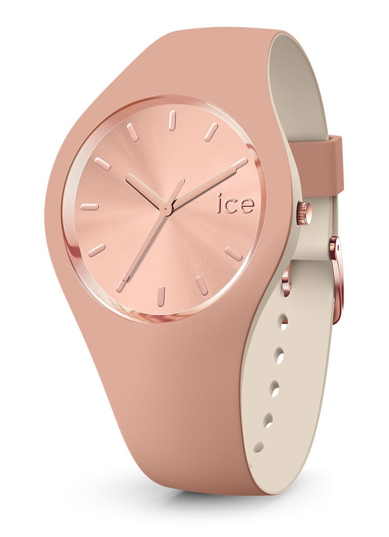 Ice-Watch - Duo Chic horloge small IW016980 - Roze