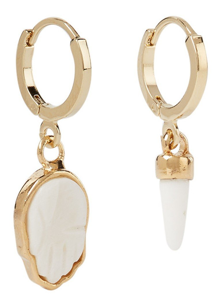 Isabel Marant - Boucles d'oreilles It's All Right avec pendant - Or