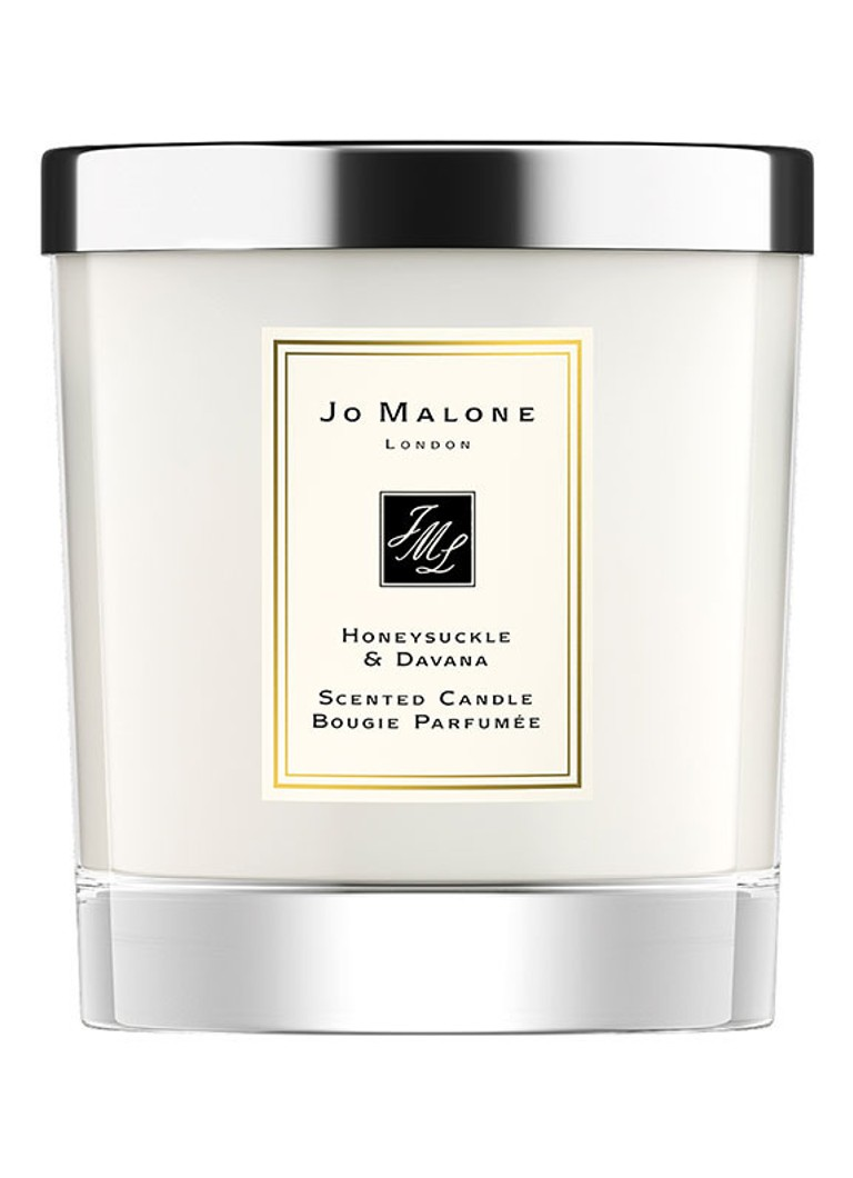 Jo Malone London - Honeysuckle & Davana geurkaars - Gebroken wit