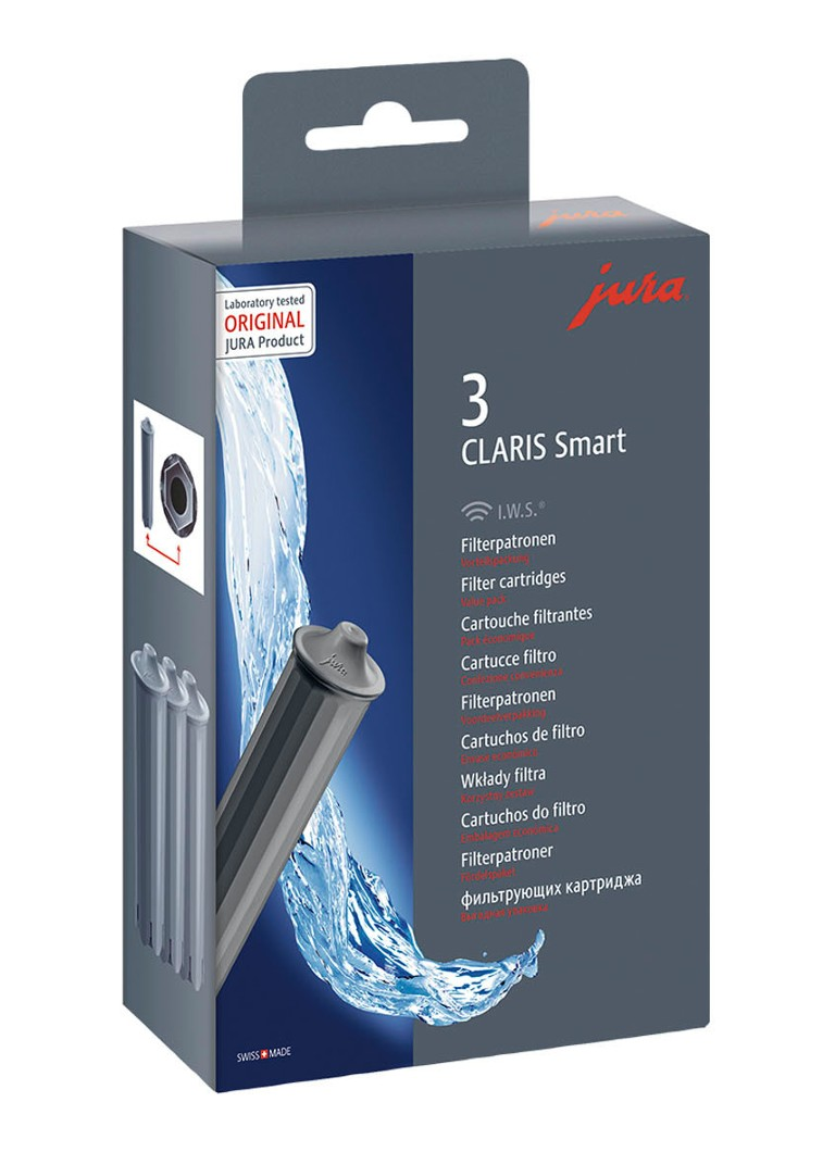 Jura - Claris Smart filterpatroon set van 3 - Grijs
