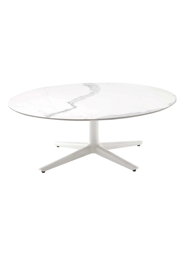 Kartell - Multiplo Low salontafel 118 - Wit