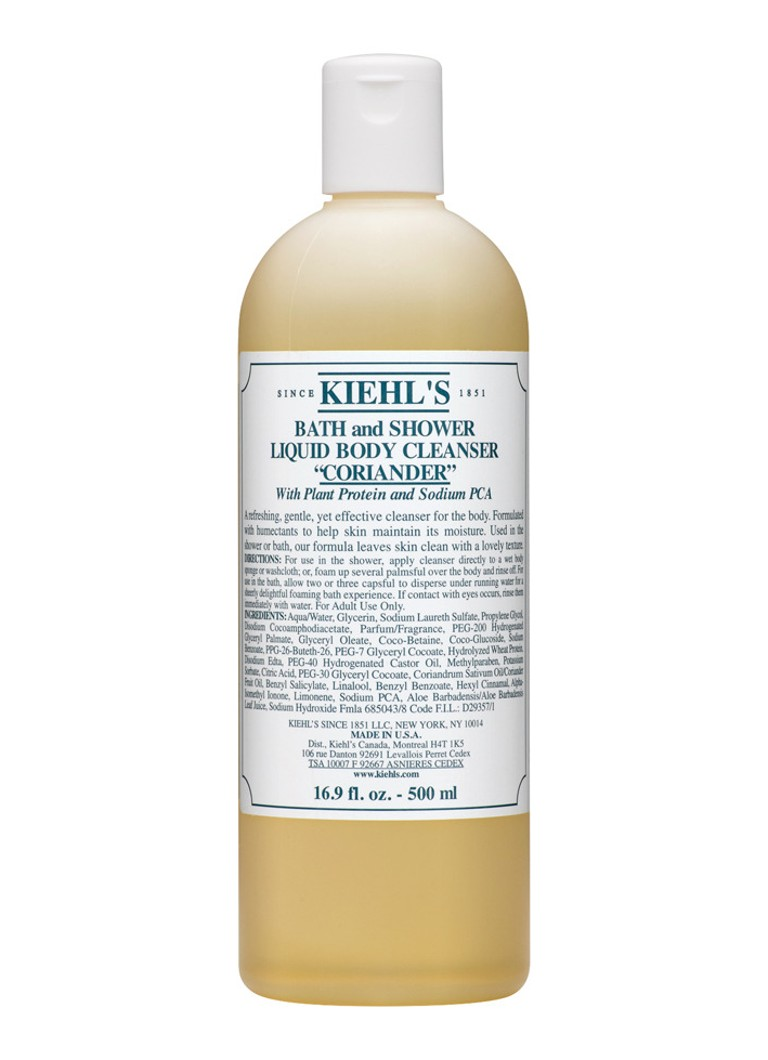 Kiehl's - Bath and Shower Liquid Body Cleanser Coriander - bad- & douchegel -