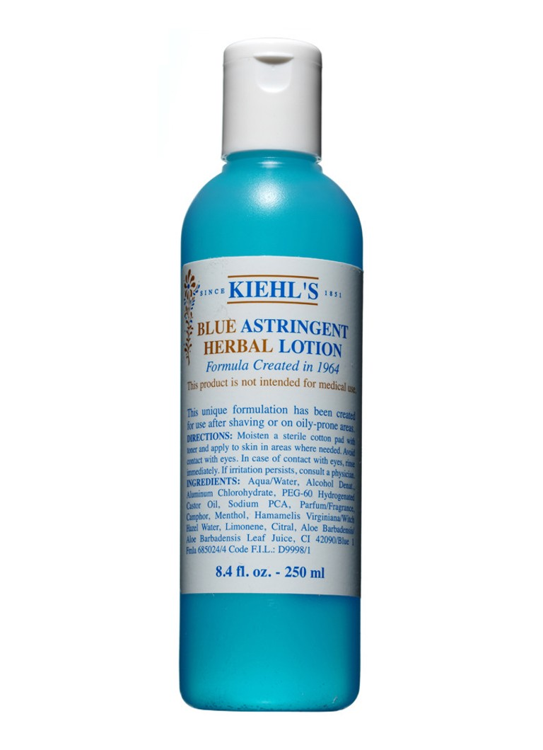 Kiehl's - Blue Astringent Herbal Lotion - gezichtslotion - null