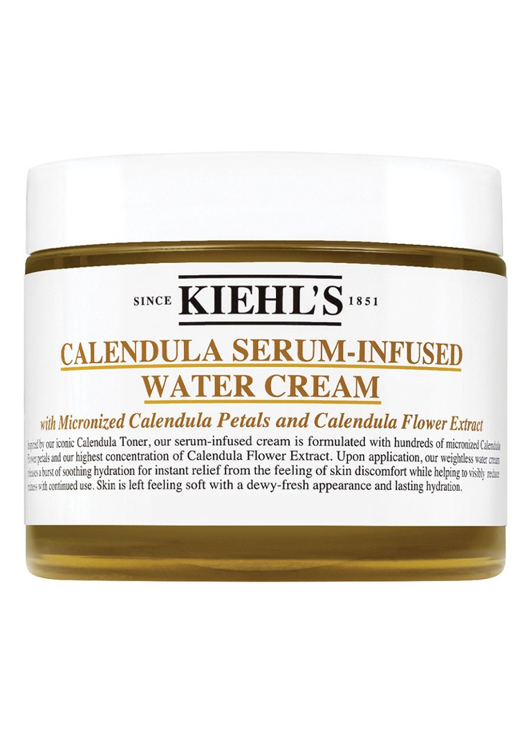 Kiehl's - Calendula Serum-Infused Water Cream - hydraterende dagcrème -