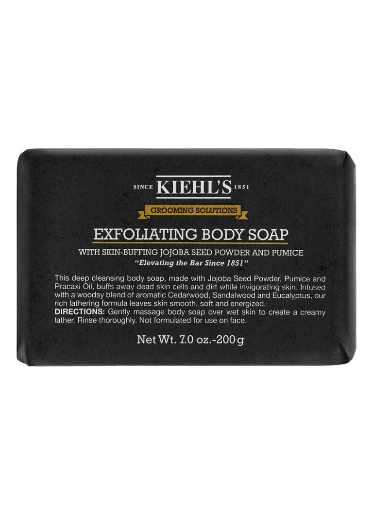 Kiehl's - Grooming Solutions Bar Soap - scrub zeep - null