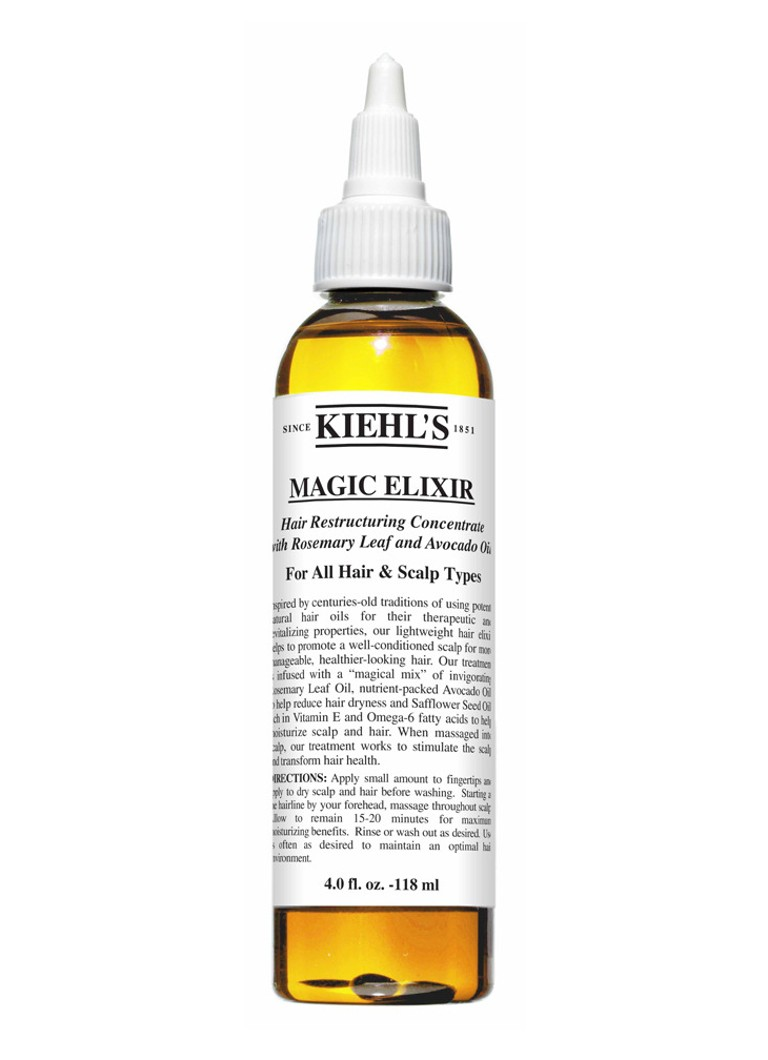 Kiehl's - Magic Elixir Hair Restructuring Concentrate - haarolie - null