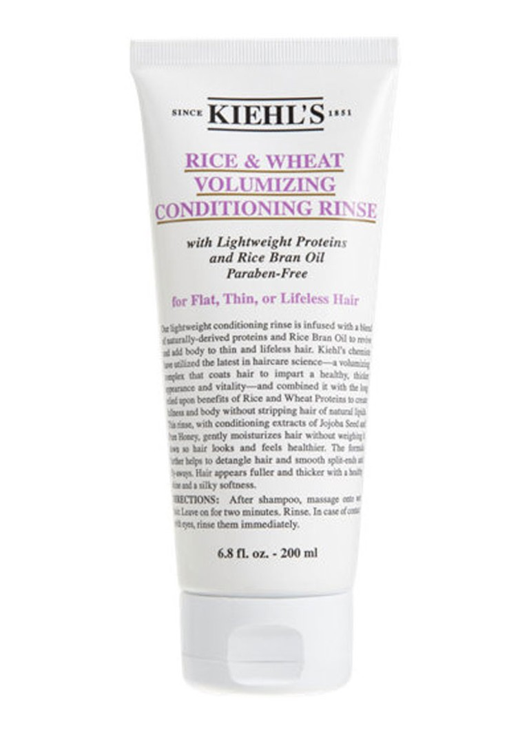 Kiehl's - Rice and Wheat Volumizing Conditioning Rinse - conditioner -