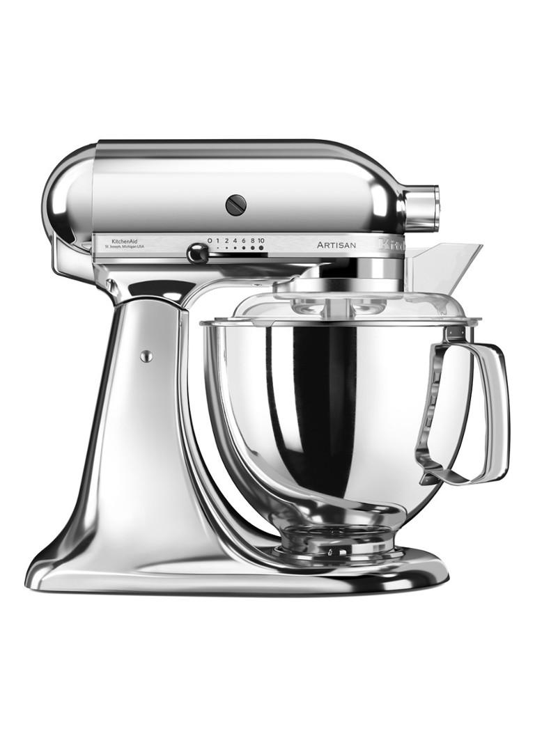 kitchenaid artisan keukenrobot mixer 4 8 liter 5ksm175ps chroom de bijenkorf. Black Bedroom Furniture Sets. Home Design Ideas