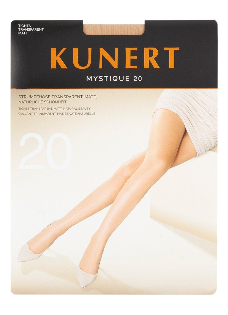 Kunert - Mystique panty in 20 denier teint - Naturel