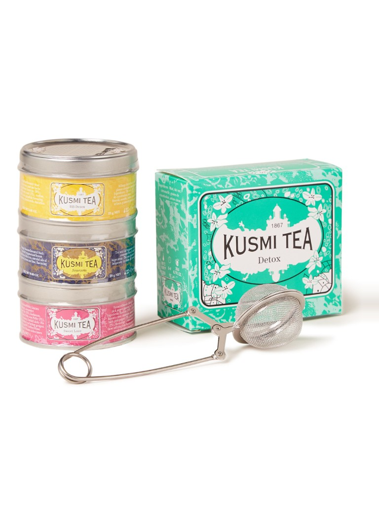 Kusmi Tea - Travel Kit theeset met thee-ei - null