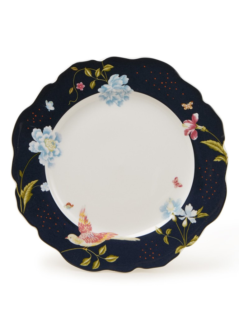 Laura Ashley - Midnight Uni dinerbord 24 cm - Donkerblauw