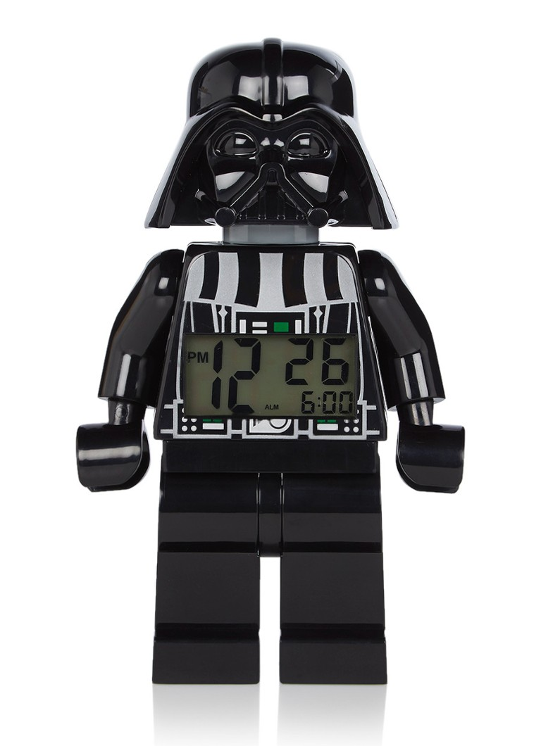 Lego - Star Wars Darth Vader digitale wekker - Zwart