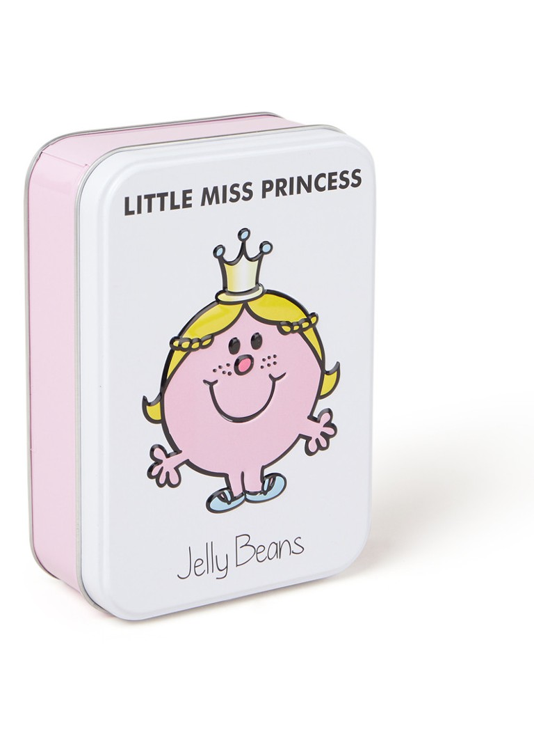 Little Miss - Little Miss Princess Jelly Beans in blik 170 gram - Wit