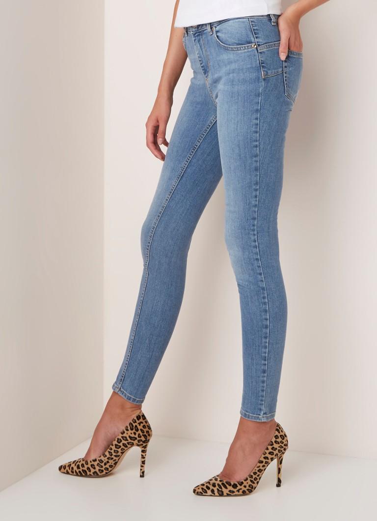 fuente abrigo Identidad  Liu Jo Liu Jo Divine mid waist skinny fit jeans met stretch • Lichtblauw •  de Bijenkorf