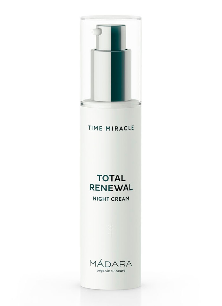 Mádara - Time Miracle Total Renewal night cream - nachtcrème - null