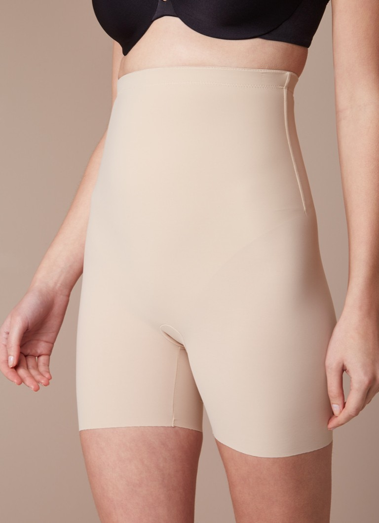 Maidenform - Sleek Smoothing high waisted corrigerende short - Beige