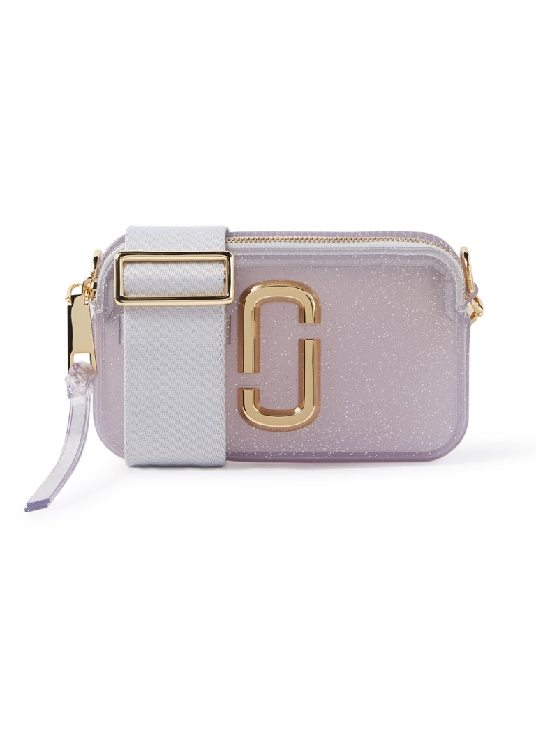 The Marc Jacobs - Jelly Snapshot crossbodytas met uitneembare etui  - Transparant
