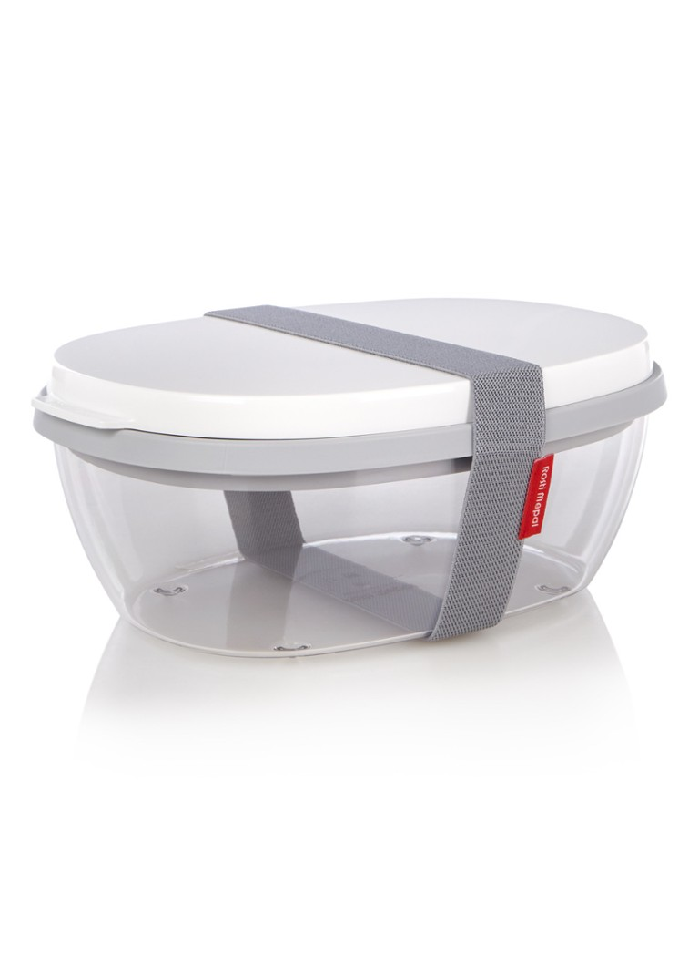 Mepal - Ellipse saladebox - Wit