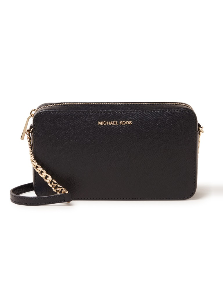 Michael Kors - Crossbodies Medium crossbodytas van leer - Zwart