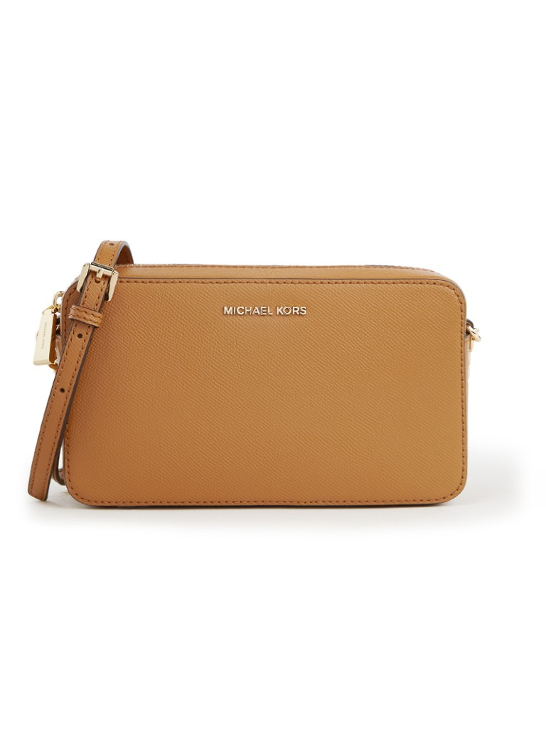 Michael Kors - Crossbodies Medium crossbodytas van leer - Bruin