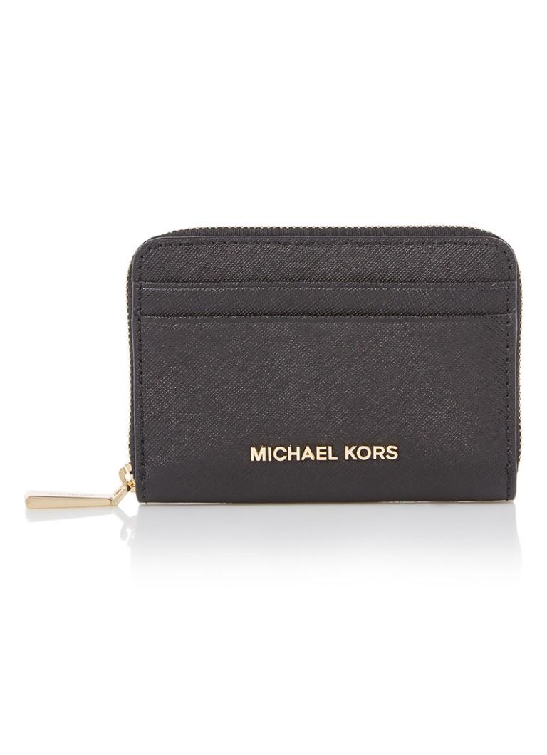 20a7602c0d6 Michael Kors Jet Set Travel portemonnee van leer • de Bijenkorf