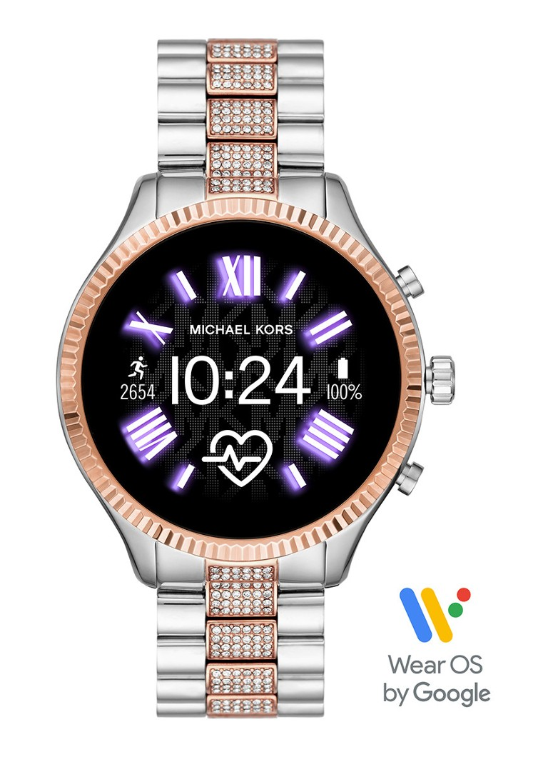 Michael Kors - Lexington Display smartwatch Gen 5 MKT5081 - Roségoud