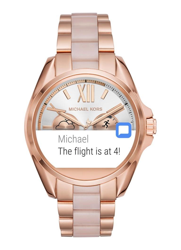 michael kors smartwatch horloge access mkt5013 de bijenkorf. Black Bedroom Furniture Sets. Home Design Ideas