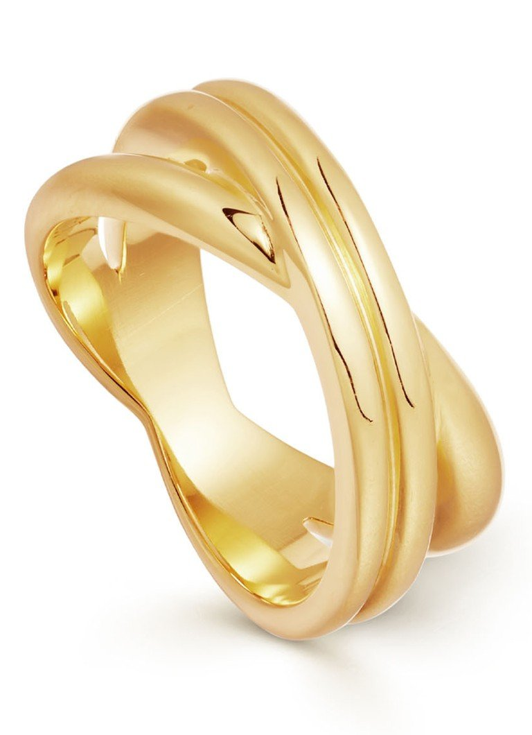 Missoma - Infini ring verguld - Or jaune