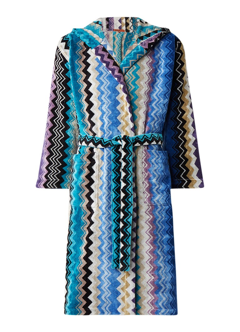 Missoni Home - Peignoir Stan en coton - Multicouleur