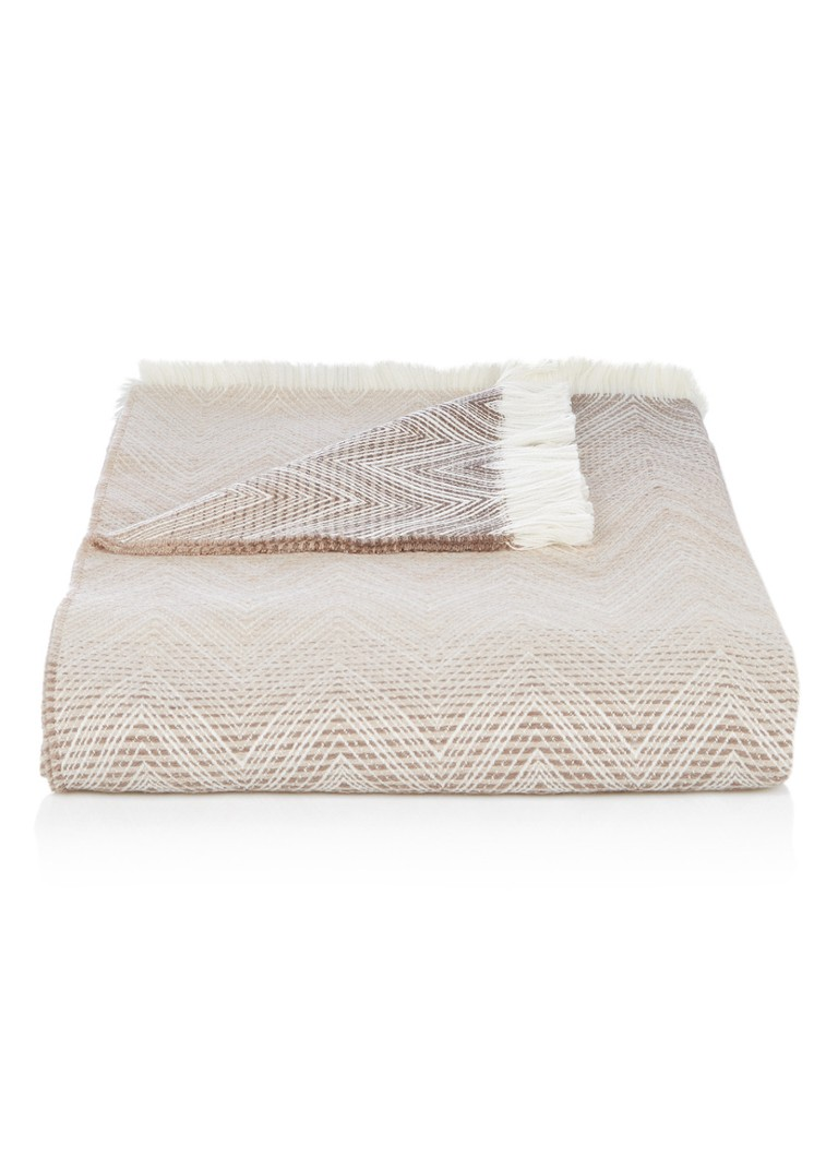 Missoni Home - Plaid Timmy 190 x 130 cm - Beige