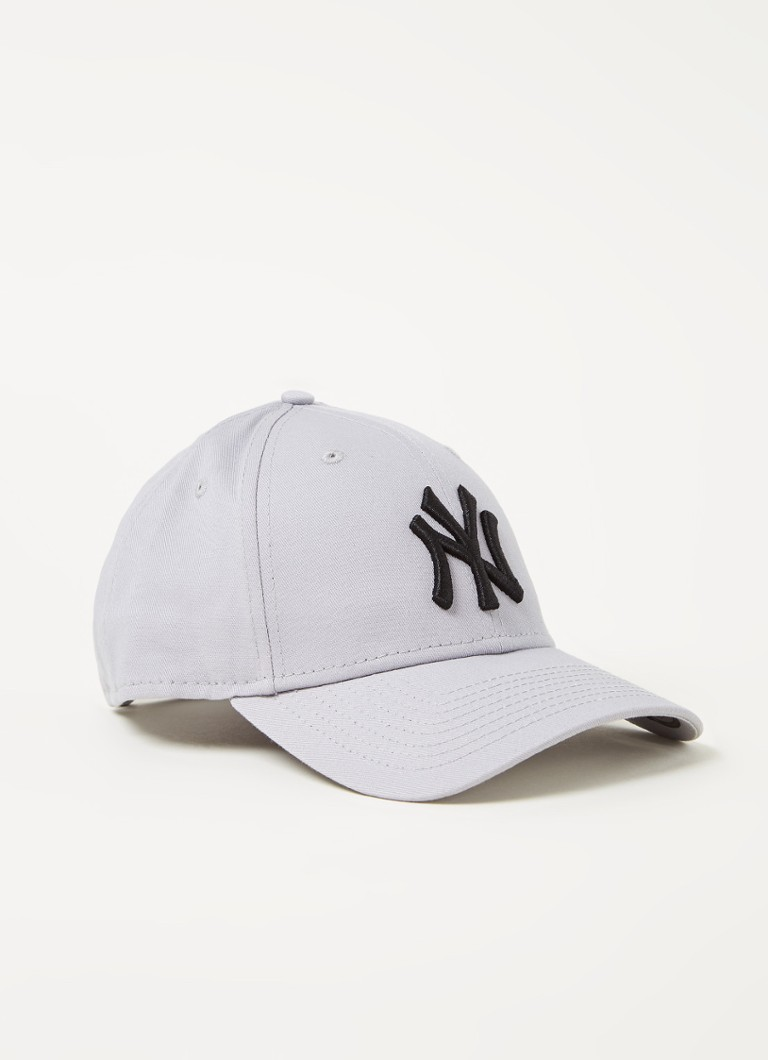 New Era - Casquette avec broderie New York Yankees - Gris clair