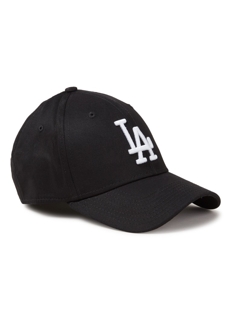 New Era - Pet met LA Dodgers borduring - Zwart