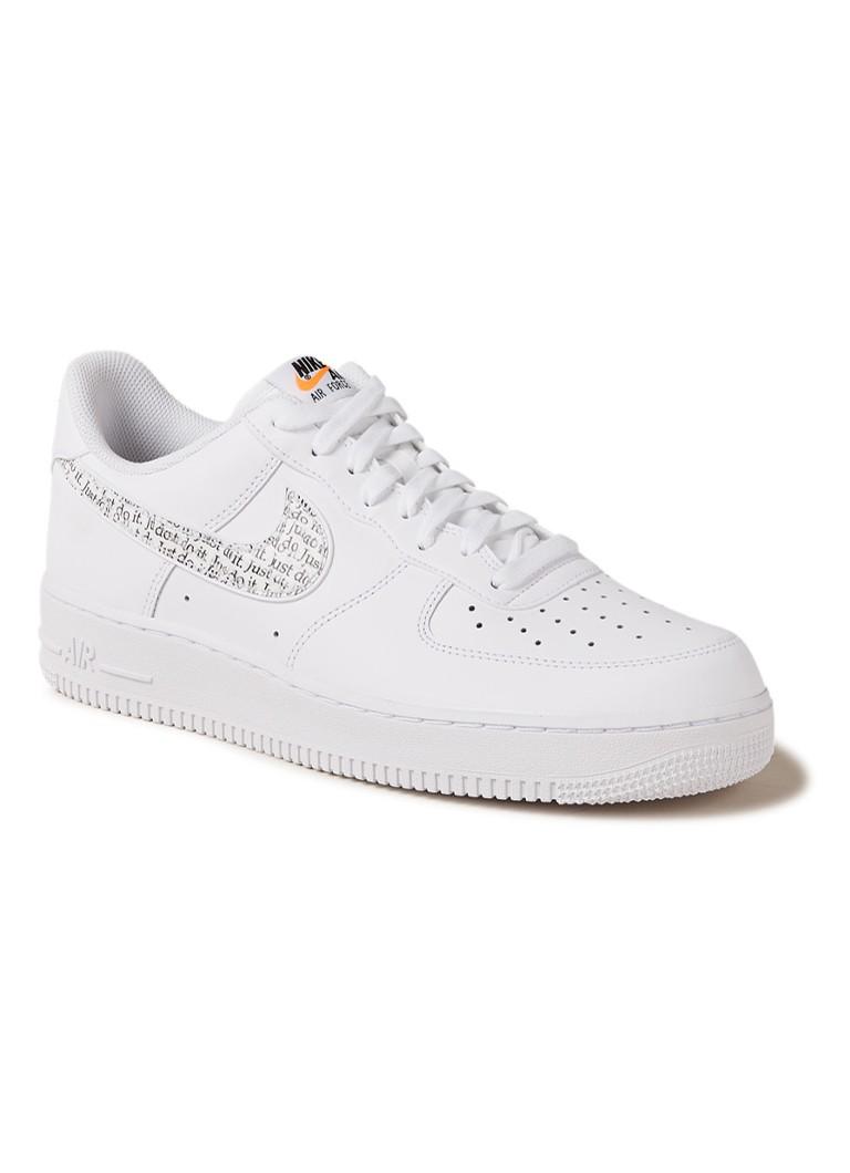 size 40 ab847 ccadf Nike Air Force 1 '07 LV8 JDI LNTC sneaker in uni • de Bijenkorf