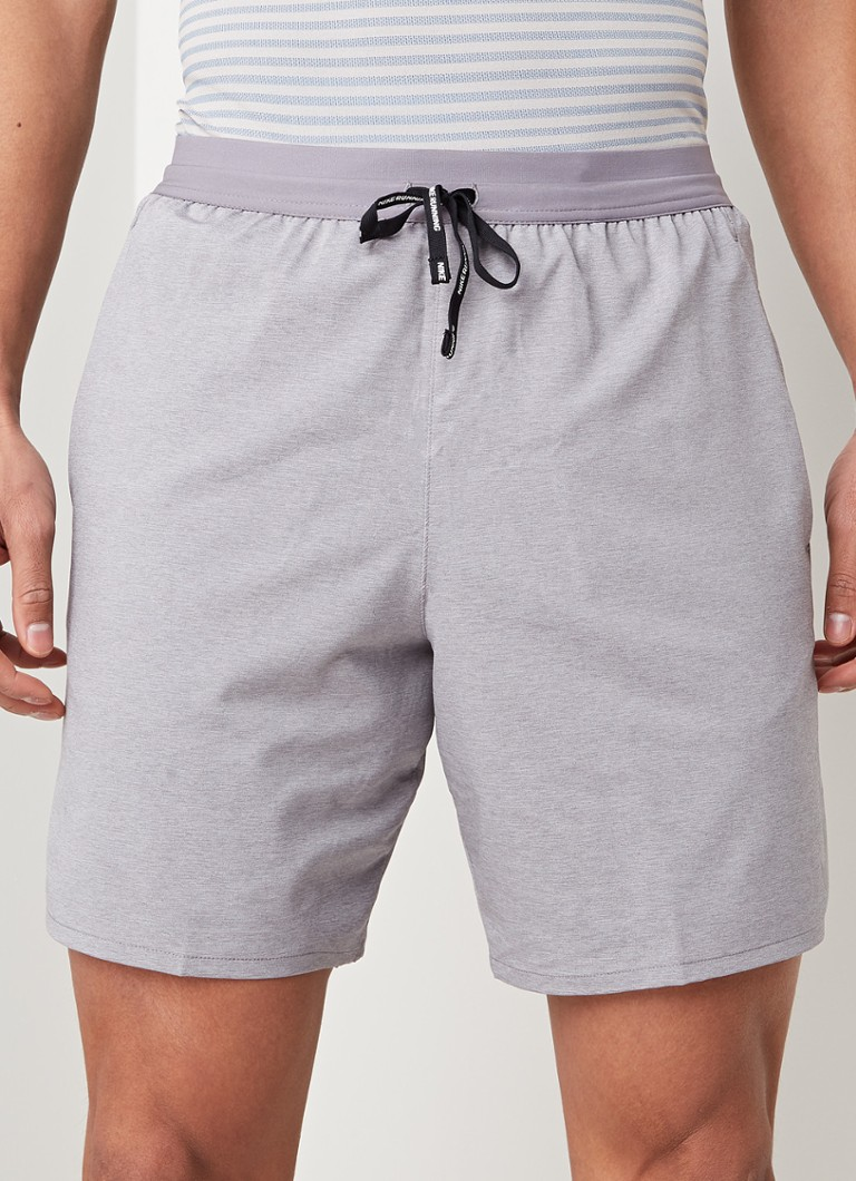 Nike - Flex Stride 2-in-1 hardloopshorts - Antraciet